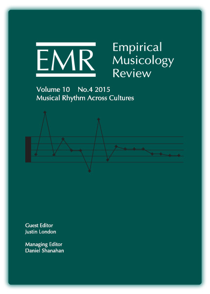 Special Issue: Musical Rhythm Across Cultures